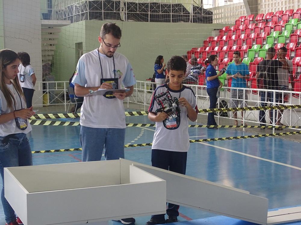 Definida primeira equipe vencedora para etapa nacional da OBR
