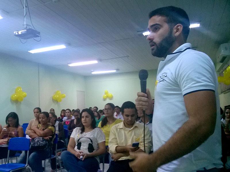 """Ação do """"Maio Amarelo"""" movimenta Campus Aracaju"""